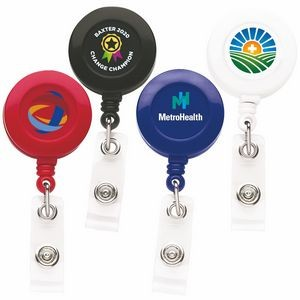 Good Round Retractable Badge Reel (Chroma - Digital Direct Print)